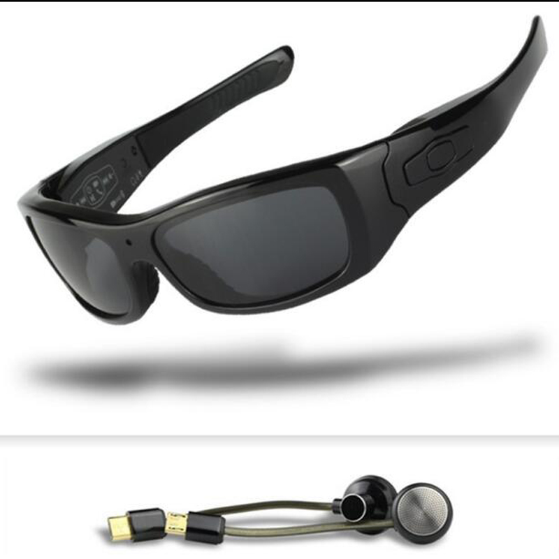 FOOANG HD camera sunglasses DV glasses Bluetooth headset sports skiing Driving forensics recorder polarized lens mini camcorders
