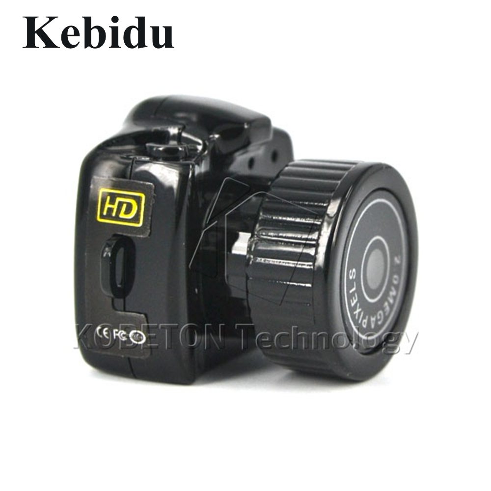 Kebidu Mini Ultra Small Pocket Video Camera 640*480 480P Pocket-sized DV DVR Camcorder Recorder Web Cam Support Micro SD Card