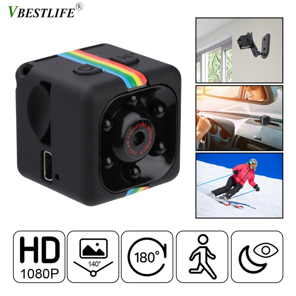 SQ8 SQ9 SQ10 SQ11 SQ12 Mini Camera HD 1080P Action Camera HD Car Camcorder With Night Vision 12MP Mini DV Camera