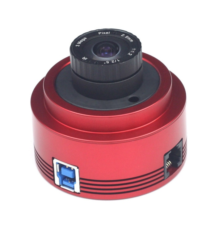 ZWO ASI178MC Color Astronomy Camera ASI Planetary Solar Lunar imaging/Guiding High Speed USB3.0