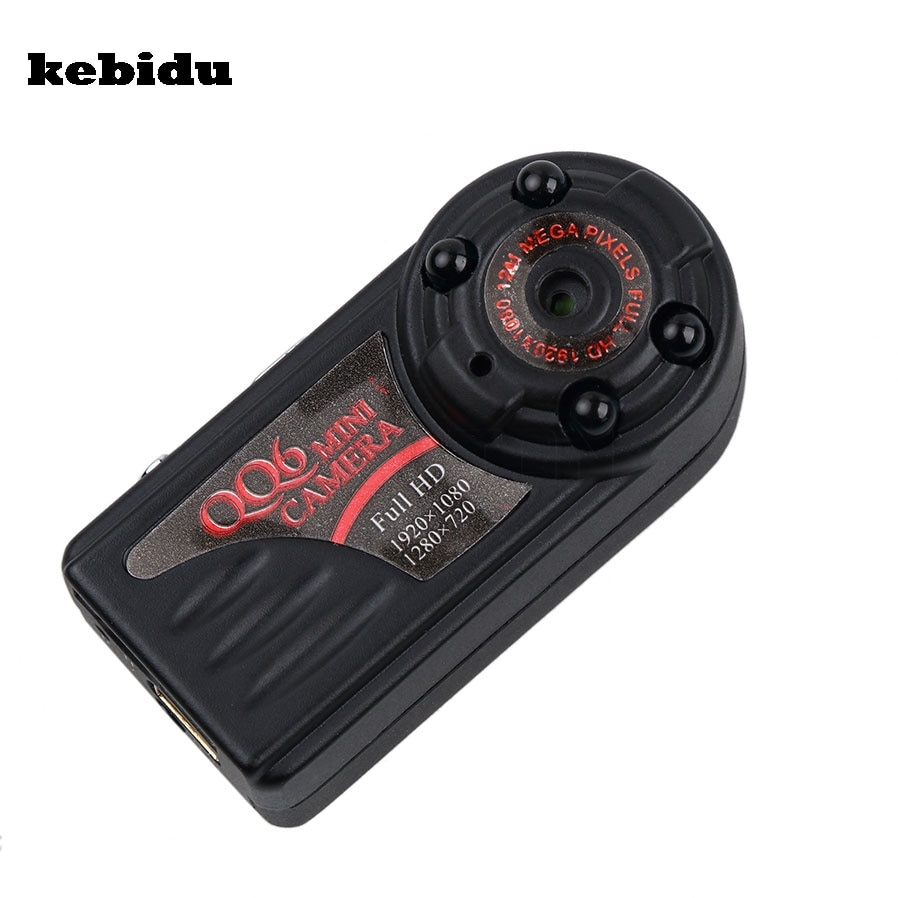 kebidu QQ6 1080P 720P Full HD Mini DV DVR Camera Camcorder USB IR Night Vision Motion Detect DVR for Windows IOS Android Devices