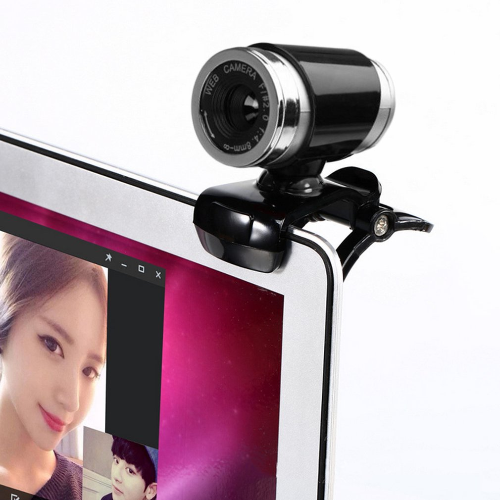 2018 Original Mini Camera 12M Pixel HD Web Camera Built-in Microphone Webcam For Computer Laptop CMOS