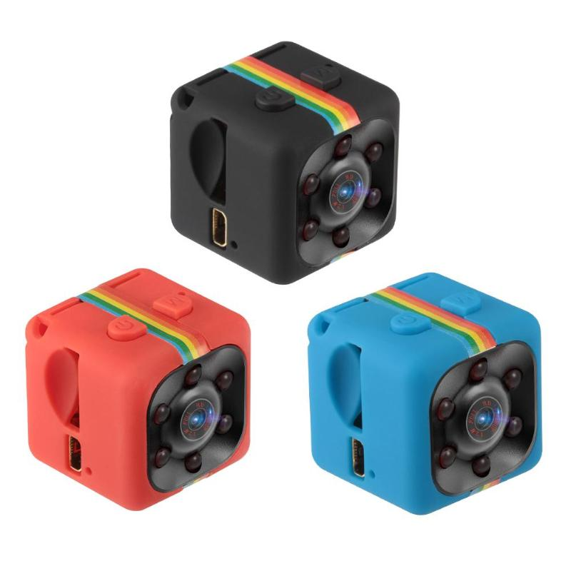 ALLOYSEED SQ11 Mini Camera 1080P Night Vision Camcorder Infrared Video Recorder Sport DV Cameras Support TF Card