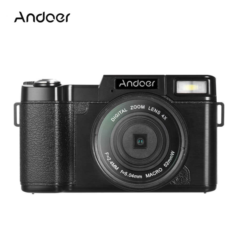 Andoer R1 Portable Camcorders 24MP Digital Video Camera Full HD 1080P 3.0