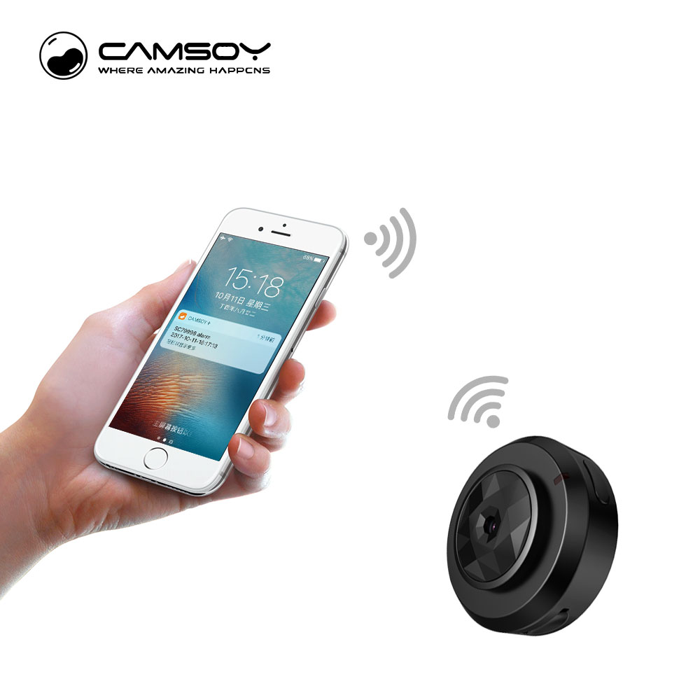 Camsoy C6 Mini Camera for Baby Home Security WIFI IP Control By Mobile Phone With Night Vision HD 720P DVR Cam New Gadgets 2018