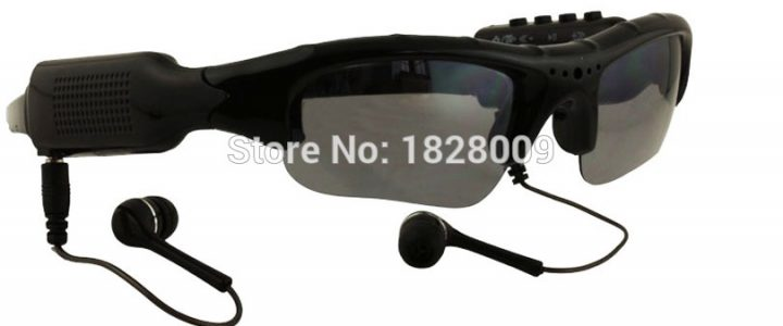 Eyewear Sunglasses Camera Support TF Card Music Video Recorder DVR DV MP3 Camcorder Music glasses with earphone Review