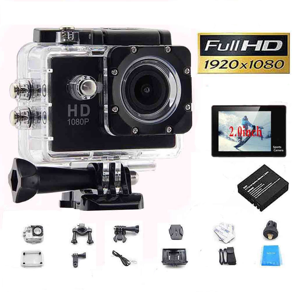 Full HD 1080P Action Sport Camcorder Mini Camera Outdoor Waterproof gopro style go pro 2