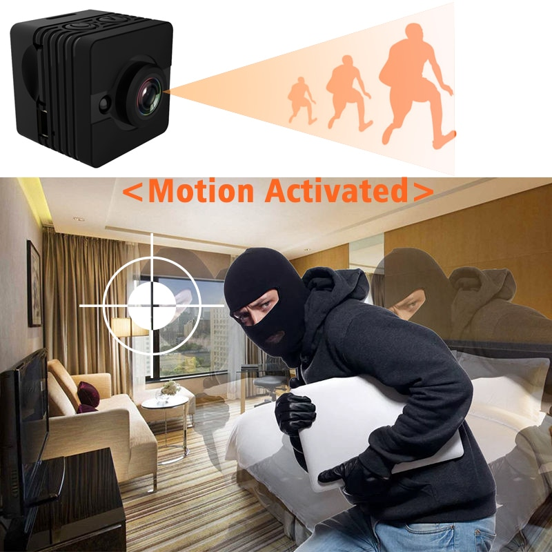 Full HD SQ12 Water Proof 1080P Mini Camera Cam DV Micro Espia DVR Flexible with Motion Sensor Secret Camcorder Sport Action