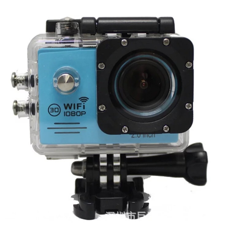 G53 2'' Screen 1080P HD Wifi Waterproof Digital Video Camera For Home and Sports Use.
