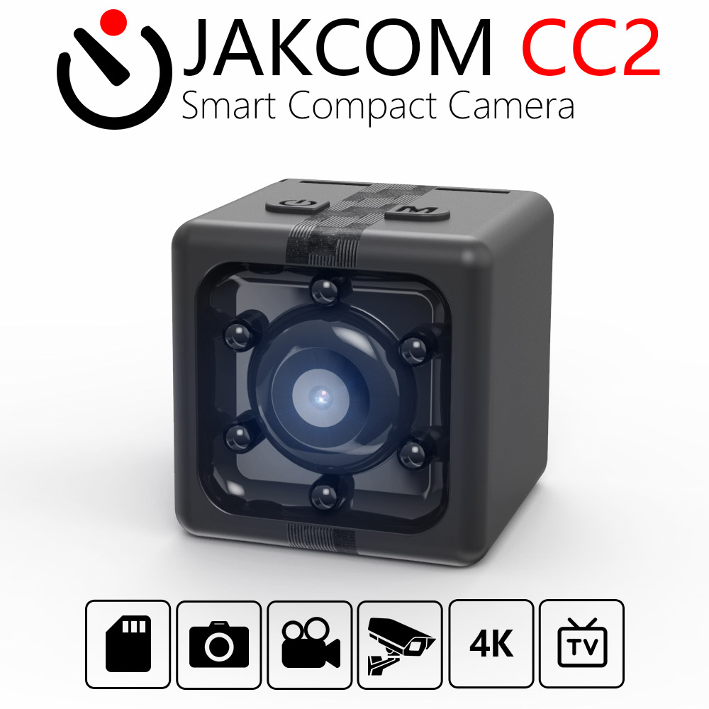 JAKCOM CC2 Smart Compact Camera Hot Sale in Mini Camera as FULL HD 1080P MINI POCKET DVR NIGHT VISION WIDE ANGLE RATED