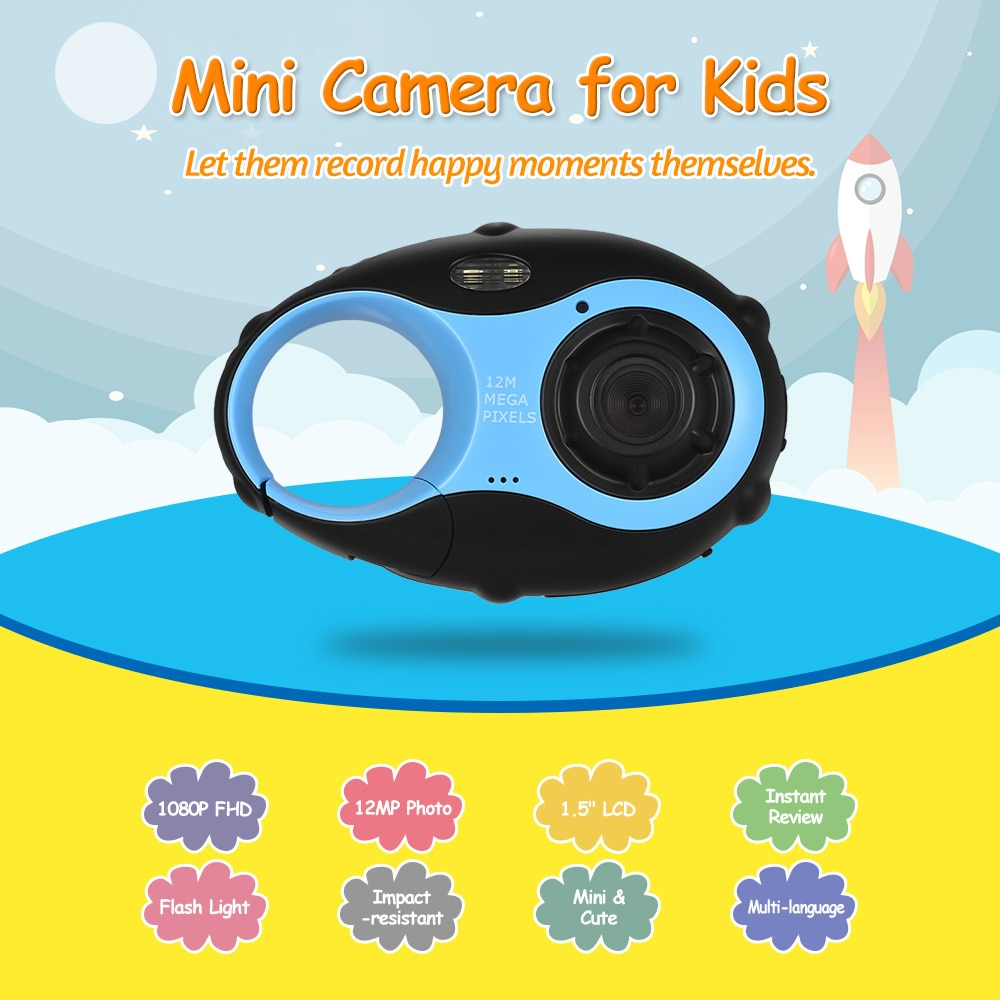 Kid Digital Video Camera 1080P 1.5