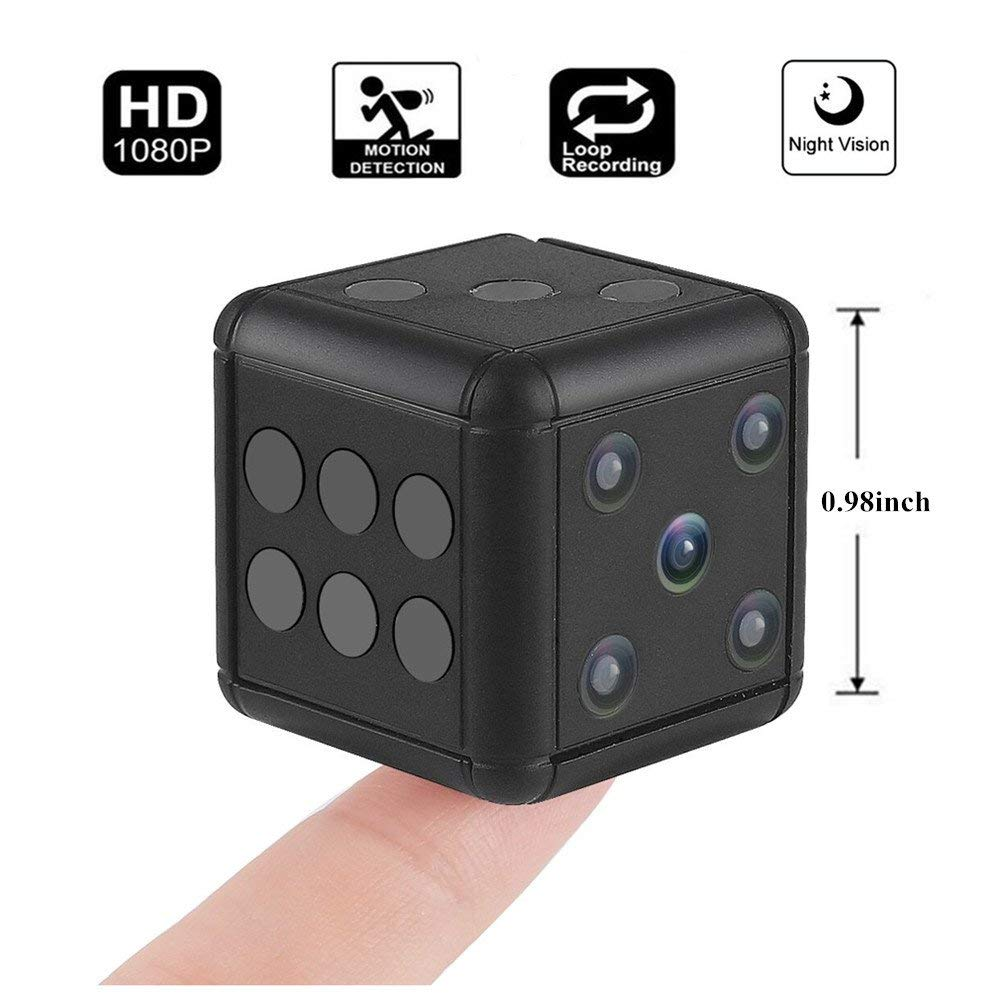 Mini Camera 1080P HD Motion Video Surveillance Camcorder Action Night Vision Recording Support TF Card