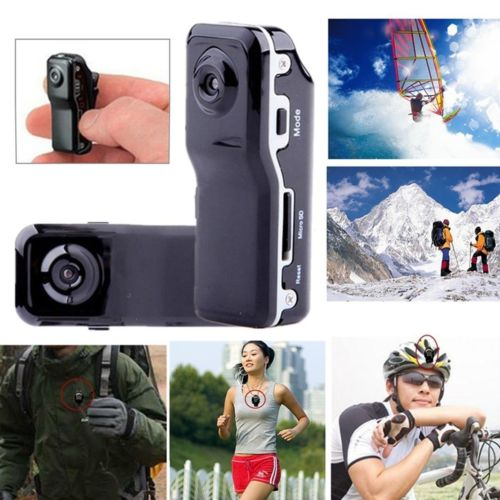 Mini Camera Car DV DVR MD80 Video Recorder Camcorder with Holders Sport Outdoor Helmet Motobike Secret Micro Cam with Audio Mic