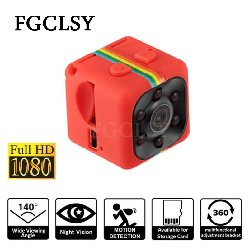 Mini Camera SQ11 1080P Sensor Infrared Night Vision Camcorder Micro video Camera DVR DV Motion Recorder Camcorder small Camera