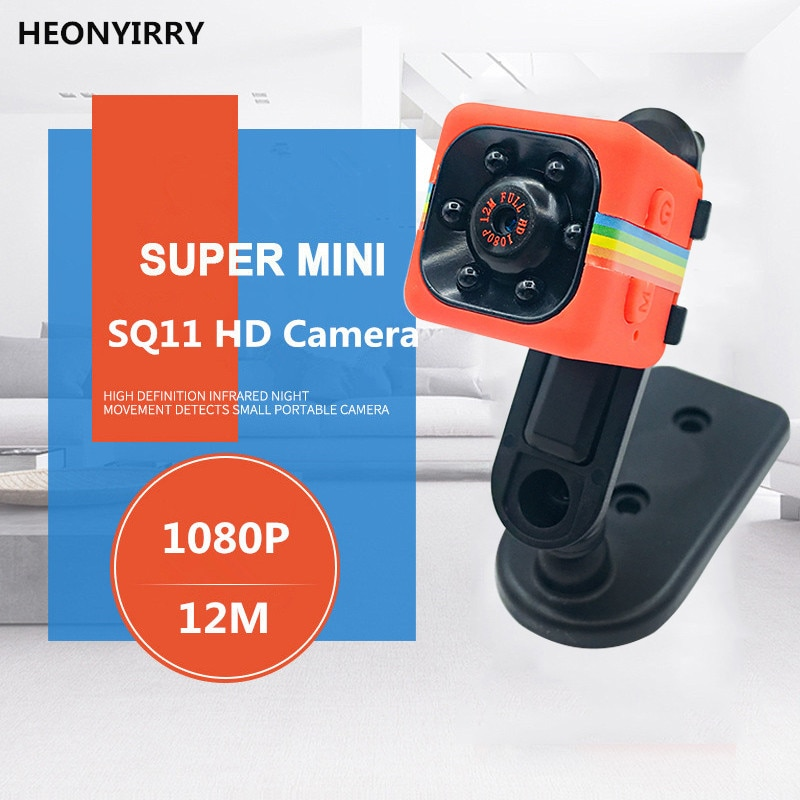 Multifunction Mini Camera SQ11 SQ12 HD 1080P Camcorder HD Night Vision Mini Camera Aerial Sports Mini DV Voice Video Recorder