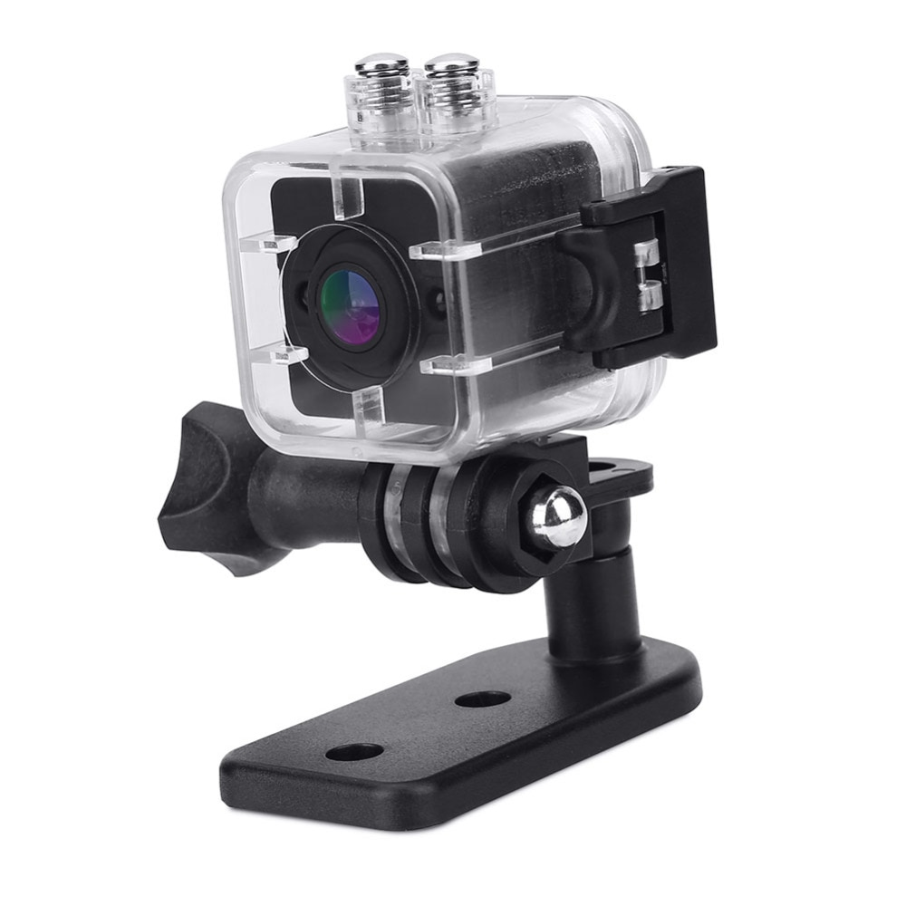 New 1080P HD Portable Mini Infrared Waterproof for Cube Action Camera Camcorder with Mounts
