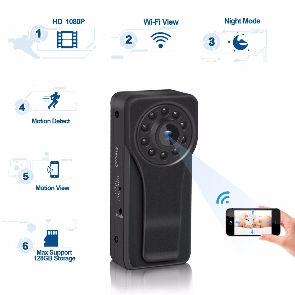New Mini Wifi Camera 1080P Full HD Secret Camera Night Vision Mini DV DVR Motion Detection Small Camera Espia Smart 1080P Camera