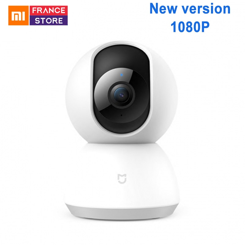 New Xiaomi Mijia Smart Camera Cradle Head Version 1080P 360 Degree Webcam IP Cam Camcorder WIFI Wireless App Control