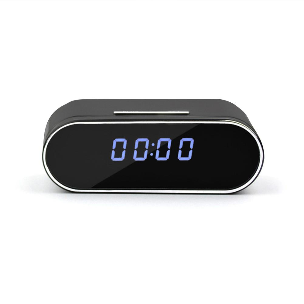 Newest 1080P WiFi Mini Clock Camera Night Vision Home Security Camera With WiFi Alarm Clock IP P2P MINI DVR Camera