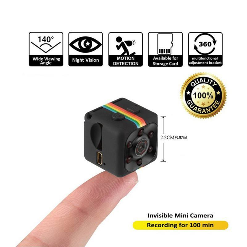 Original SQ11 Mini Camera 640*480 DV Micro Sport Camera Car DVR Night Vision Video Voice Recorder Action Cam Mini Camcorder