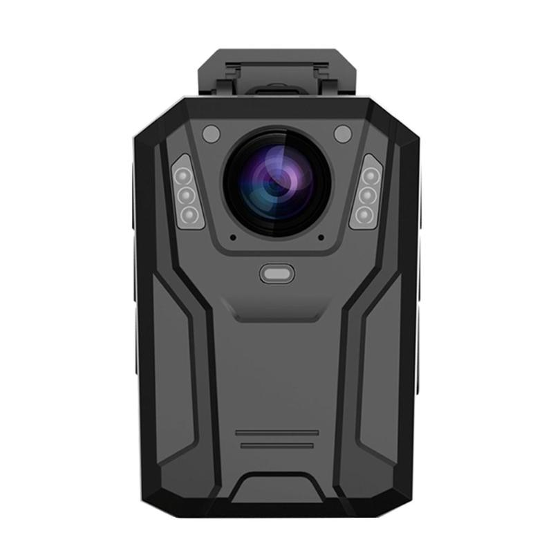 Portable Wearable Body Camera 2in WiFi 1296P HD Infrared Night Vision 32GB Video Recorder Mini Police Security Camera