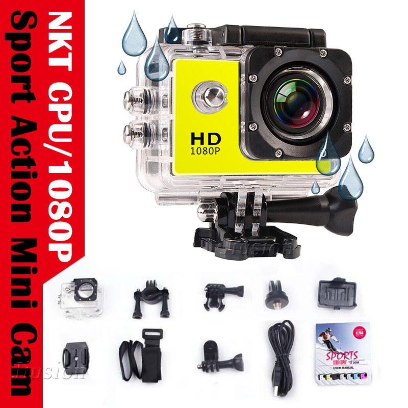SJ Full HD 1080P Sport Action Cam Mini Camera Waterproof DV Voice Camcorder Helmet Gopro style go pro Screen Water Resistant
