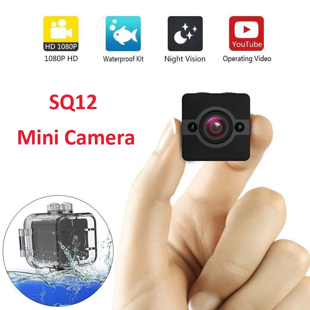 SQ12 Waterproof Mini Camera New Version SQ11 Full HD 1080P Mini DVR Night Vision Camcorder Motion Sensor TV Out Camera Espion