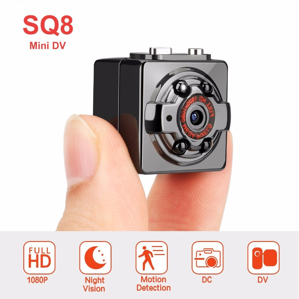 SQ8 Mini Camera Full HD 1080P Micro Camera IR Night Vision DV Camera Motion Sensor DVR Camcorder Mini Cam SQ11 SQ12 Old Version