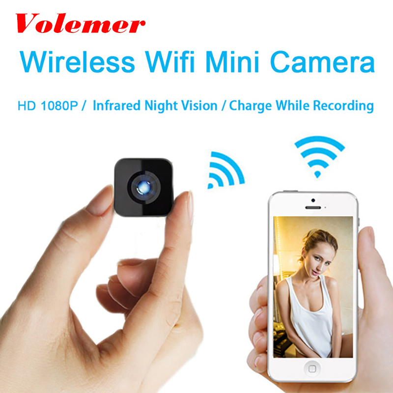Volemer HDQ13 Micro Camera Camcorder Full HD 1080P Infrared Night Version car DVRs Voice Video Recorder Suppot TF card Mini Cam