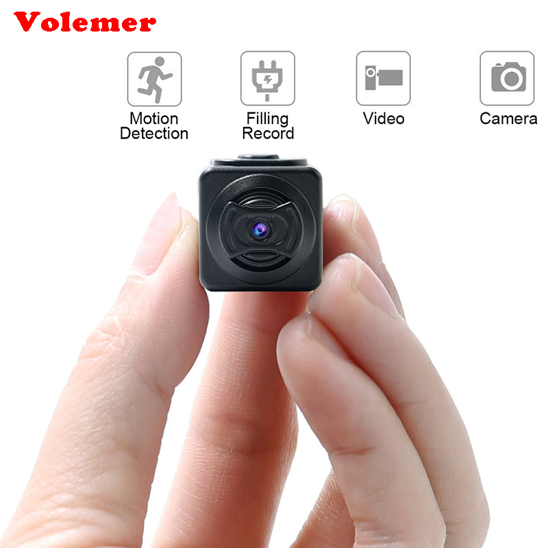 Volemer New Mini Camera Full HD Micro Cam Motion Detection Function The Smallest 960P Camcorders In The World PK SQ8 SQ11 SQ12