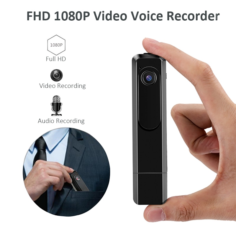 Wearable Mini Camera C181 1080P 720P HD Adjustable Pen Camera H.264 Video Voice Recorder Small Camera Portable Camera Espia