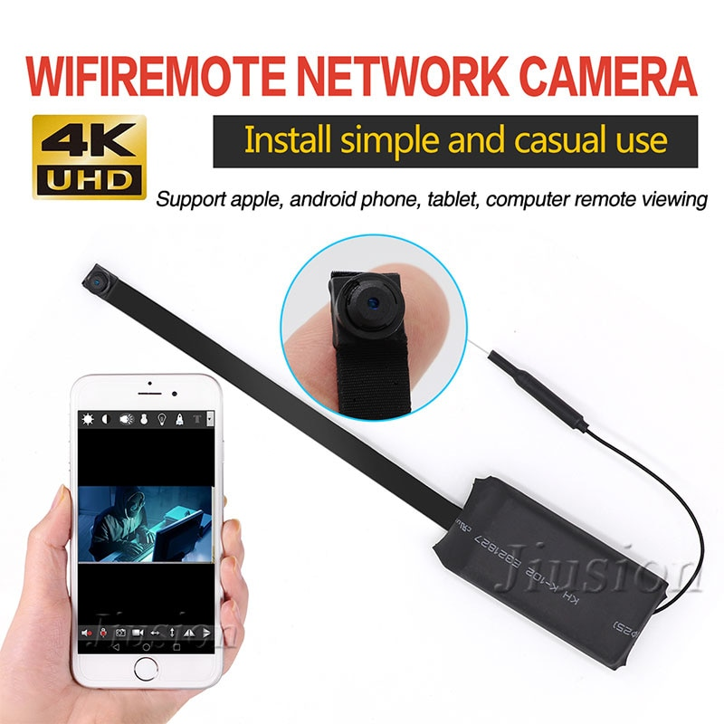 WiFi Mini Camera DIY Module Pinhole HD 1080P Video Audio Recorder Motion Sensor IP Remote Network Camcorder Flexible Micro Cam