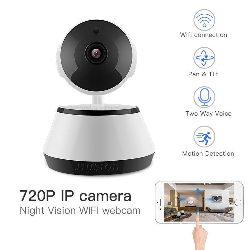Wifi IP Nanny Camera Comsumer Cam Surveillance Cloud Storage 2 Way Audio Motion Detection Night Vision Espia Security Baby