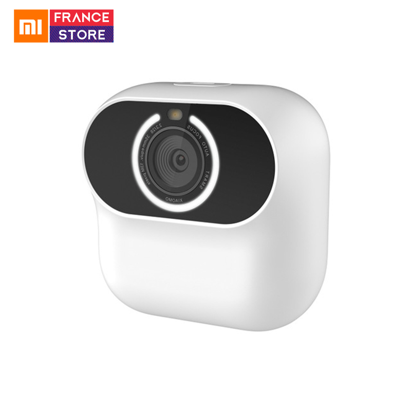 Xiaomi Xiaomo AI Camera F2.2 Free Angle Shooting Cam Magnetic adsorption Intelligent Gesture Recognition Selfie Mini Portable