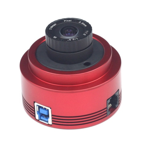 ZWO ASI178MM Monochrome Astronomy Camera ASI Planetary Solar Lunar imaging/Guiding High Resolution High Speed USB3.0