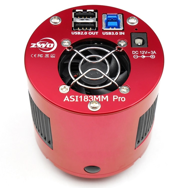 ZWO ASI183MM Pro Cooled Mono Astronomy Camera ASI Deep Sky imaging High Speed USB3.0