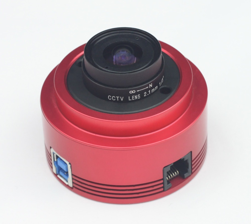 ZWO ASI224MC Color Astronomy Camera ASI Planetary Solar Lunar imaging/Guiding High Speed USB3.0